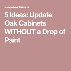honey oak cabinets 5 Tips to Update Your Wood Cabinets with Hardware, Backsplash, Glass Doors and More! You might be surprised to hear it, but I'm a huge fan of wood cabinets (especi Honey Oak Cabinets, Oak Kitchen Cabinets, Kitchen Paint, Kitchen Redo, Wood Cabinets, Kitchen Ideas, Kitchen Remodel, Oak Kitchens, Kitchen Inspiration