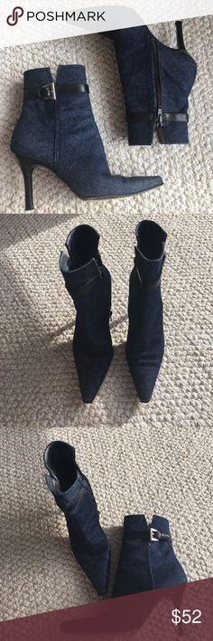 Stuart Weitzman Vintage Denim Boots