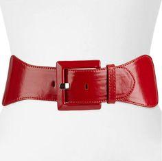 Apt. 9® Wide Stretch Belt, Women's, Size: S-M, Red