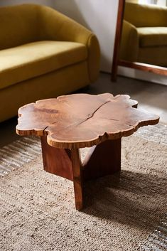 Akina Live Edge Coffee Table | Urban Outfitters Coffee Table Urban Outfitters, Live Edge Table, Live Edge Console Table, Wood Molding, Ceramic Table, Recycled Wood, Acacia Wood, Leather Sofa, Plank