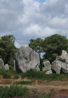 Carnac is a small village of about 5,000 people in the region of Brittany, northwestern France. It is home to the Carnac Stones, a system of more than 3,000 prehistoric standing stones.