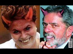 Dilma e Lula a serviço de lúcifer e contra os cristãos!!!