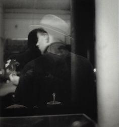 Self Portrait Saul Leiter, ca.1952