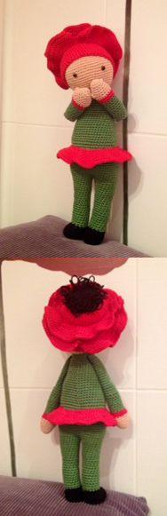 Poppy Paola made by Marta N - crochet pattern by Zabbez