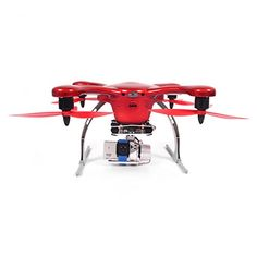 GHOST-Aerial GPS RC Quadcopter Frame Phone Smart Control Gimbal UP TO 1KM Supporting Gopro Cam Easy for Beginner for Android Device Great Gift for Christmas(Red)