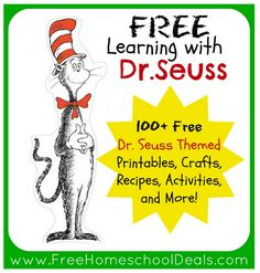 dr seuss activities printable | ... 100 free dr seuss activities recipes crafts printables and more these
