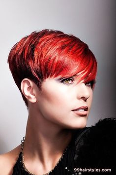 short red hair - 99 Hairstyles Ideas.  I am missing my red hair!