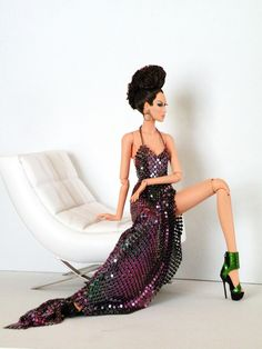 I cant believe this is a Barbie! Barbie Style, Barbie I, Black Barbie, Vintage Barbie Dolls, Barbie World, Barbie Clothes, Barbie Model, Beautiful Barbie Dolls, Pretty Dolls