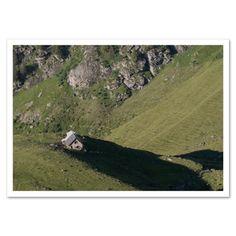 Fotokarte »Riesenschatten« http://dickoepfig.ch/produkt/fotokarte-riesenschatten/ #suisse #schweiz #switzerland