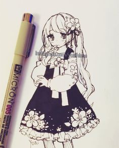 I'll be a little busy today to draw anything else so here's something from my sketchbook, have a great day (´・ω・`)