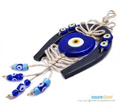 Horseshoe Good Luck Amulet by Evil Eye Store