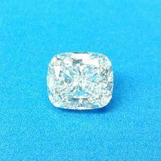 Diamant von 3,53 ct im Kissenschliff, G, lupenrein