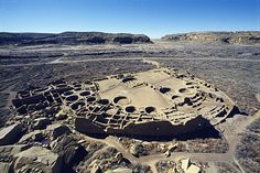 This is the largest complex built by Native American Indians in North America, in New Mexico. It has more than 600 hundred rooms, and both 2 & 3 story buildings.