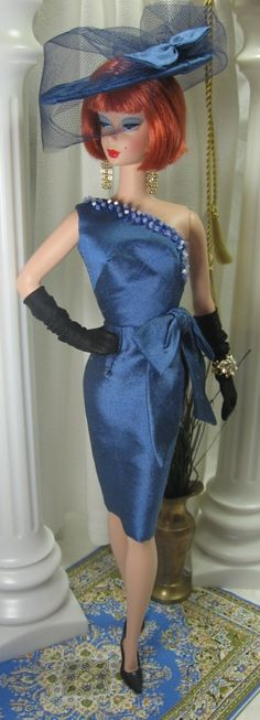 Bristol Blue Baby!  Hmm, this explains a lot; I guess I've gotten some of my style from the Barbie doll :)