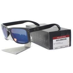 f5dd1e4786 Oakley Holbrook Matte Black   Ice Iridium Polarized