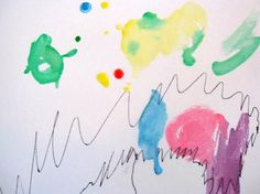 Homemade Watercolor Paints in Action