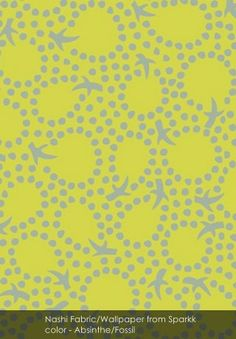 Nashi from Sparkk in Shamrock/Agate Pineapple Punch, Fruit Punch, Fabric Wallpaper, Pattern Paper, Create Your Own, Presents, Agate, Green, Blog