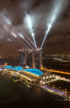 Marina Bay Sands, Singapore;; my first son lived here for two years so I definitely wanna see it