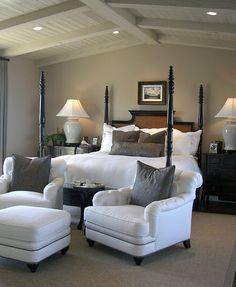 Master Bedroom Seating Area, Jennifer Gurley, Gurley Interiors ...
