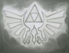 Zelda Ölgemälde