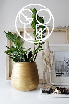 Give your pots a gold effect | SMÄM