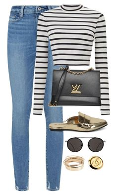 """Untitled #4726"" by magsmccray on Polyvore featuring Paige Denim, Miss Selfridge, Valentino and Chanel"