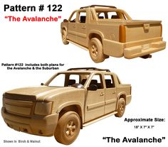 Wooden Toy Plans, Patterns, Models and Woodworking Projects from ...