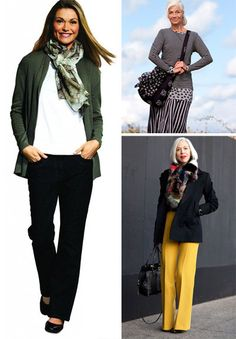 Outfits for women of middle age