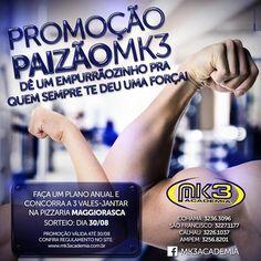 Campanha do Dia dos Pais da MK3 Academia assinada pela Ferro Propaganda.   DiadosPaisMk3   04384e957f