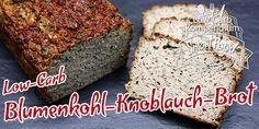 Blumenkohl-Knoblauch-Brot Low-Carb – herzhaft & saftig
