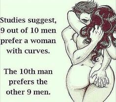 First, who cares what men think? Enjoy being you no matter what. Second, what does this say to girls who actually want to be skinny or are skinny? Makes it seem like no man will ever like us. How about we don't worry about what men think and decide that every body is an awesome and sexy body.