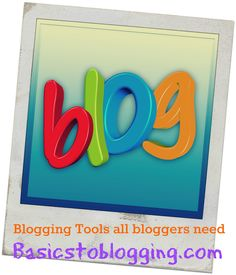 Blogging Tools can certainly come in handy when it comes to extras and added features that you will need for your blog or website.  Ultimately they will hep you to save time, increase traffic to your blog or website, make it more visually appealing, even improve your blog speed so that you page will load up a lot faster.