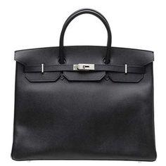 Sac Hermès Birkin 40cm Noir Pas Cher Sacs Hermès, Sacs À Main De Luxe, cd3990b0e1d