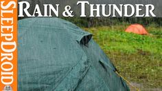 Hours of rain on a tent with thunder ~ rain on tent/rain sounds ? Ba. & ?? Beautiful relaxing 10 hour rain u0026 thunder sound. Use this ...