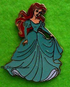 Disney Pin Disney Princess - Glitter Dress - Little Mermaid Ariel