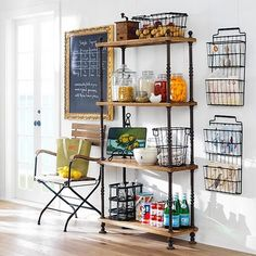 Love The French Keeper Shelves Sandy Underwood Wire Shelf Ideas