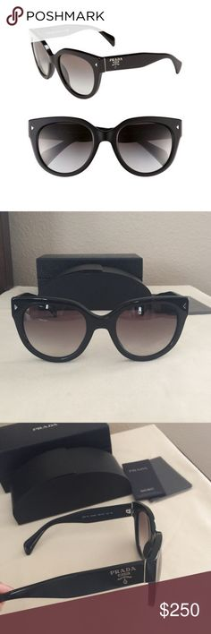 0700c9ccae7 BRAND NEW Prada Cat Eye Sunglasses 54mm