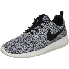Nike Wmns Roshe Run Black Sail (511882-003) (€115) found on Polyvore