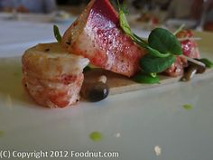 Plumed Horse - Saratoga - Lobster - One Michelin Star