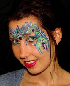 Illusion Magazine's Split Cake Face Painting Competition - Winners Announced! (this was #1)