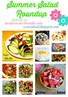 Treasure Box Summer Salad Roundup - Memories By The Mile