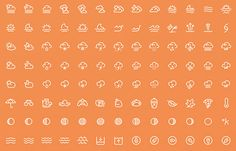 50 Free Weather Icon Sets to Download