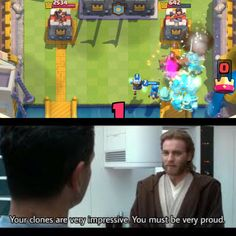 I hope my Clash Royale clones are sufficient enough for the the 501st