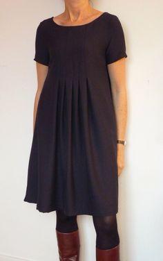 Retour aux sources vers ce modèle japonais: la robe E, du livre