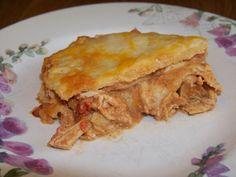 Low Carb Mexican Chicken Lasagna