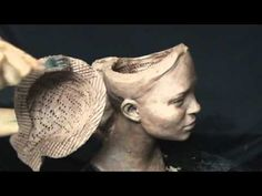 ▶ Hollowing sculpture. Preparing for firing in a kiln. - YouTube
