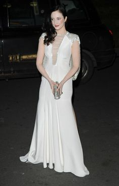 Andrea Riseborough wore Spring 2013 Jenny Packham at the London Evening Standard British Film Awards in London.