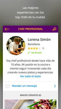 Aplicación Cook In House