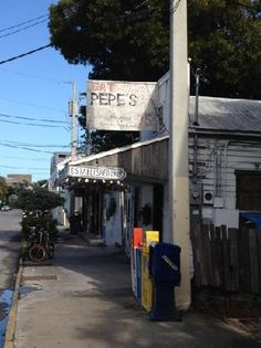 old town key west //love this store.  we, locals have been eating here for decades.  it is the oldest eating establishment in town over 100 years old...great food.