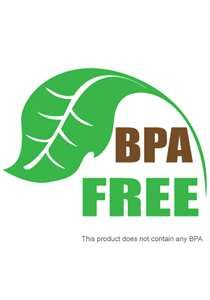 All of our reusable glass water bottles are #bpa free. Always. It's our promise to you at BottlesUp.
